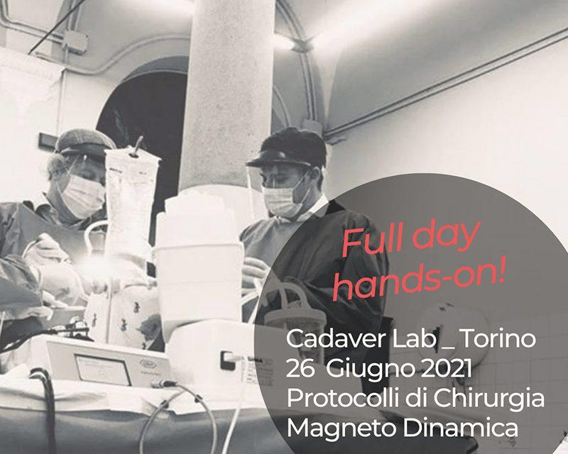 Cadaver Lab 26 Giugno 2021 – Torino